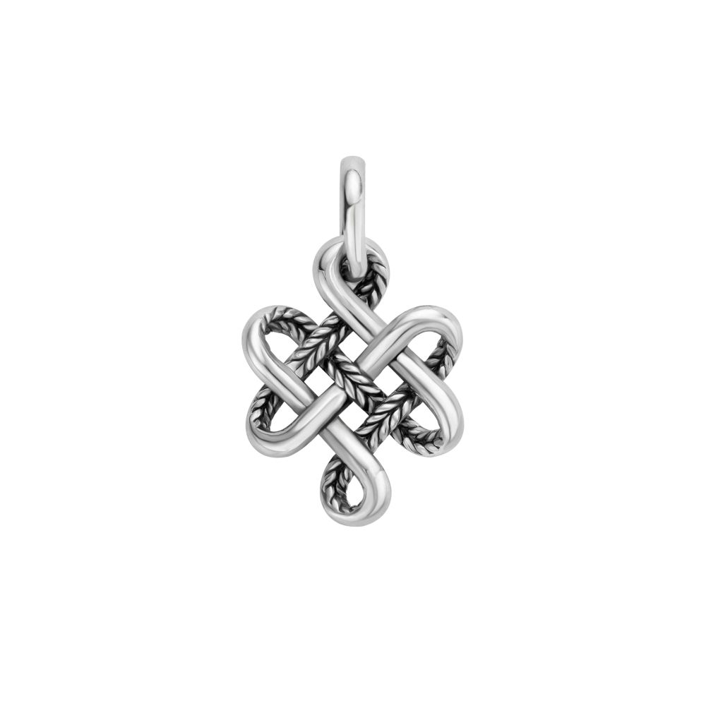 665 one - Endless Knot XS Pendant