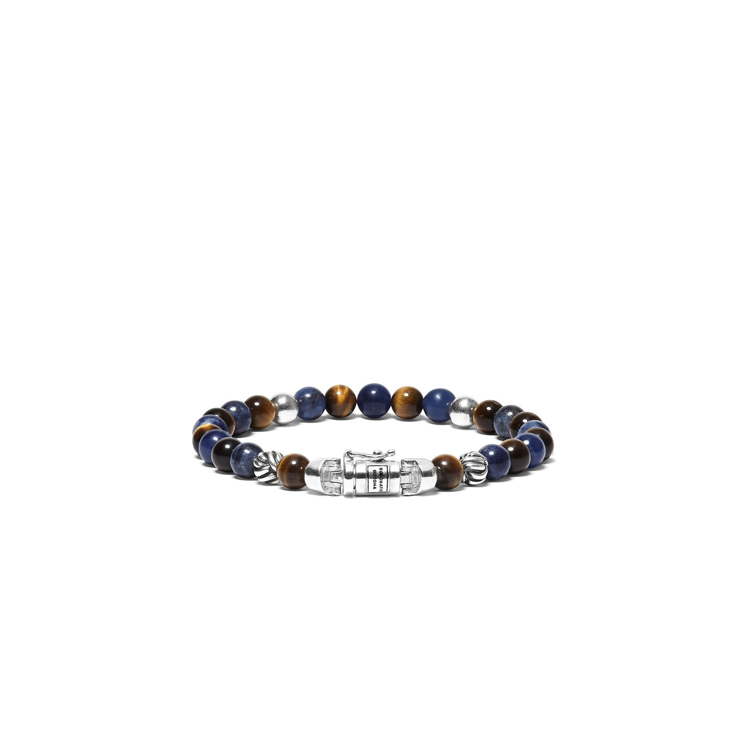 189MS D Spirit Bead Mini Mix Sodalite  Tigereye