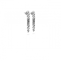 Chain Drop Earring Silver****