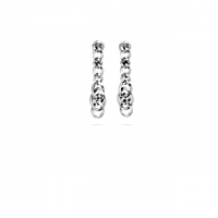 Nathalie Drop Earring Silver