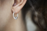 Katja Mix Earring Silver